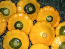 Yellow Button Squash